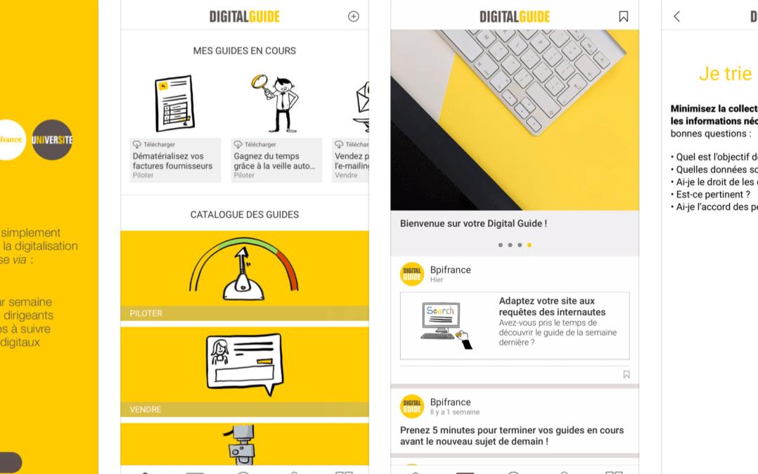 Avant de Cliquer mis en avant par Bpifrance Université dans le Digital Guide lié à la cybersécurité