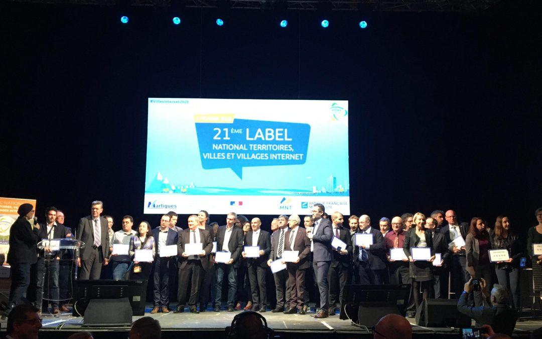 Avant de Cliquer mis en avant lors du 21ème label national des villes et villages internet