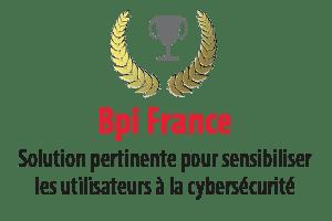 BPI France - Solution pertinente pour sensibiliser les utilisateurs à la cybersécurité