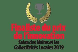 Finaliste prix innovation salon des maires collectivités locales 2019 Avant de Cliquer