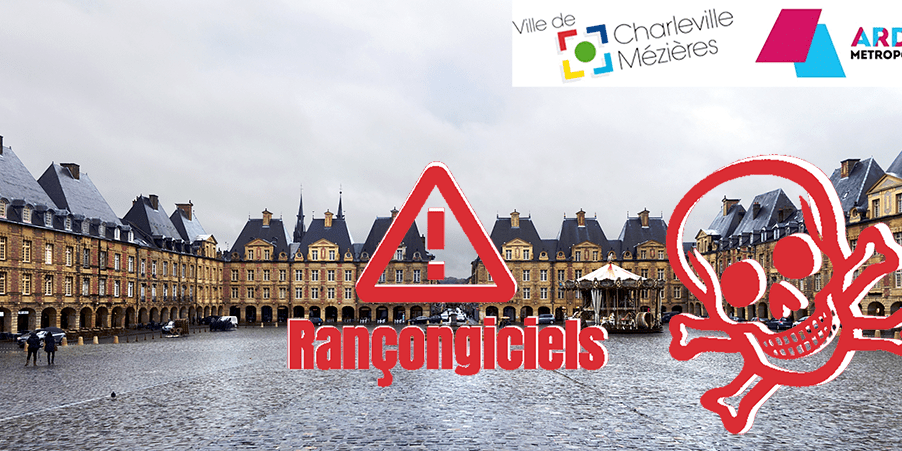 Cyberattaque en Ardenne Métropole, Charleville-Mézières et son CCAS